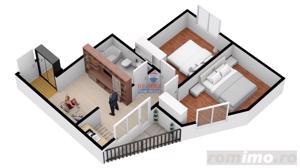 Nou! Direct dezvoltator, 3 camere, etaj intermediar - imagine 8