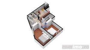 Nou! Direct dezvoltator, 3 camere, etaj intermediar - imagine 6