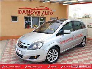 Opel Zafira,GARANTIE 3 LUNI,AVANS 0,RATE FIXE,Motor 1700 CDTI,125CP,Model 7 locuri.  - imagine 1