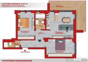 Timisoara - Bl. Nou - Ap. Cu 2 si 3 Camere - PROMOTIE - Lift - Parcare - Terase - Finisaje Premium - imagine 5