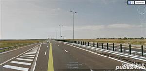 Teren Snagov latura padure 9,5 HA  -Autostrada A3  - imagine 2