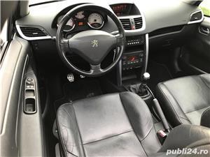 Peugeot 207cc 1.6 benzina TURBO 150 cp.  - imagine 5