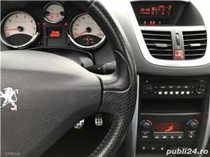 Peugeot 207cc 1.6 benzina TURBO 150 cp.  - imagine 8
