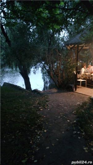 Urgent, scadere pret, vila de arhitect, pe malul lacului, intre doua paduri, 10 km de Bucuresti - imagine 3