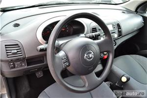 Nissan Micra AN:2005=avans 0 % rate fixe aprobarea creditului in 2 ore=autohaus vindem si in rate - imagine 14