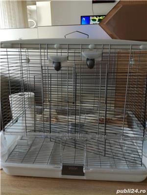 Vînd cușcă papagali mari , stare excelentă preț250 roni - imagine 2