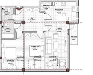 Dezvoltator vand apartament cu 3 camere in rate pe 5 ani!!!! - imagine 2