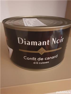 Pulpe rață confiate Diamant Noir si Palmilord de foarte bună calitate - imagine 1