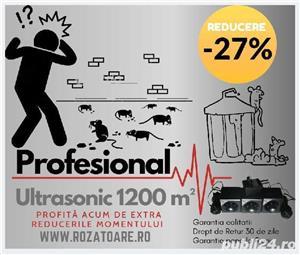 Aparat Industrial Ultrasonic 1200 impotriva soarecilor si sobolanilor - imagine 2