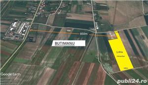 Teren  Butimanu  Dambovita 34 400 mp  - imagine 1
