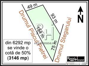 Baneasa - Drumul Stegarului, teren 3146 mp in indiviziune - imagine 1