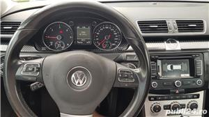 Vw Passat 2.0 diesel 140 cp an 2013 Euro 5 automat Alcantara RAR efectuat - imagine 9