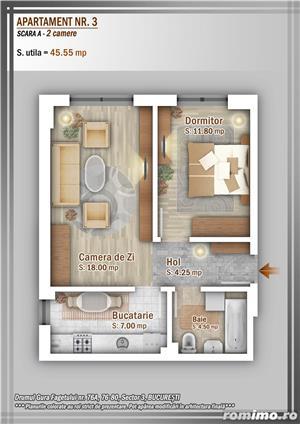 Apartament 2 Camere, 51 mp, Dezvoltator, Bucuresti sector 3, Pallady, Titan - imagine 28