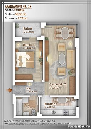 Apartament 2 Camere, 51 mp, Dezvoltator, Bucuresti sector 3, Pallady, Titan - imagine 16