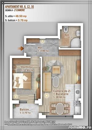 Apartament 2 Camere, 51 mp, Dezvoltator, Bucuresti sector 3, Pallady, Titan - imagine 24