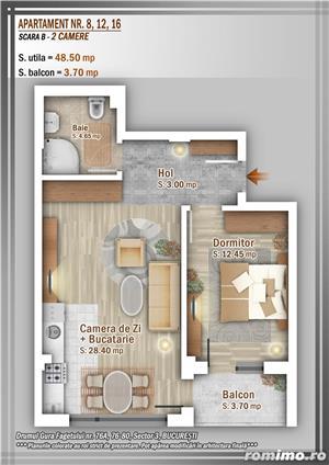 Apartament 2 Camere, 51 mp, Dezvoltator, Bucuresti sector 3, Pallady, Titan - imagine 8