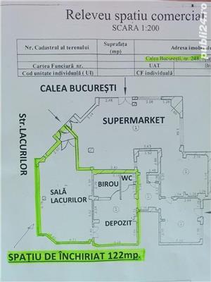 Spatiu comercial pe CALEA BUCURESTI (DN1) -Darste.-122 mp - imagine 4