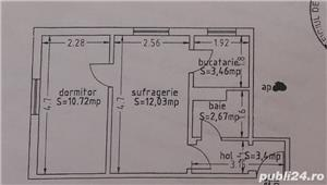 Tomis Nord(Ciresica)-2 Camere semidecomandat -38000e - imagine 5
