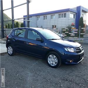 Dacia Sandero 1.2i   32000KM!!!  EURO 6  model 2017 posibilitate achizitionare in rate!!! - imagine 10