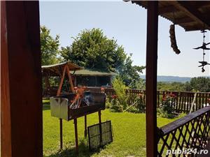 Vand casa in mijlocul naturii cu afacere la cheie - imagine 13
