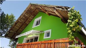 Vand casa in mijlocul naturii cu afacere la cheie - imagine 3