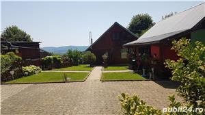 Vand casa in mijlocul naturii cu afacere la cheie - imagine 4