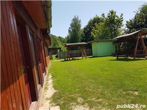 Vand casa in mijlocul naturii cu afacere la cheie - imagine 6