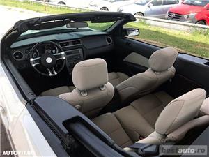 Ford Mustang Cabrio // 3.7i 310 CP // Decapotare Electrica // Pilot Automat // Comenzi pe Volan  - imagine 5