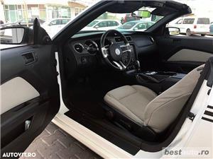 Ford Mustang Cabrio // 3.7i 310 CP // Decapotare Electrica // Pilot Automat // Comenzi pe Volan  - imagine 3