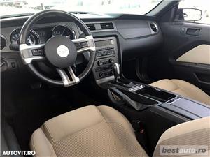 Ford Mustang Cabrio // 3.7i 310 CP // Decapotare Electrica // Pilot Automat // Comenzi pe Volan  - imagine 11