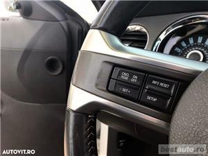 Ford Mustang Cabrio // 3.7i 310 CP // Decapotare Electrica // Pilot Automat // Comenzi pe Volan  - imagine 12