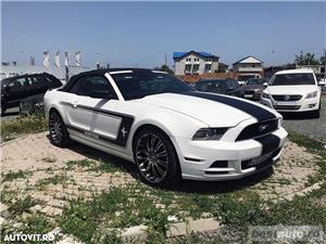 Ford Mustang Cabrio // 3.7i 310 CP // Decapotare Electrica // Pilot Automat // Comenzi pe Volan  - imagine 16