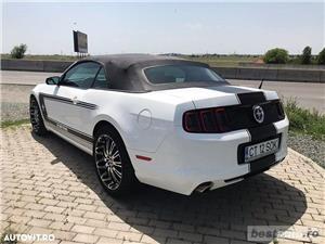 Ford Mustang Cabrio // 3.7i 310 CP // Decapotare Electrica // Pilot Automat // Comenzi pe Volan  - imagine 18