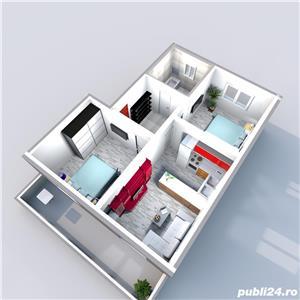 Vand apartament 3 camere Calea Cisnadiei 53mp , 80 mp gradina 64700 euro - imagine 17