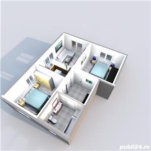 Vand apartament 3 camere Calea Cisnadiei 53mp , 80 mp gradina 64700 euro - imagine 15