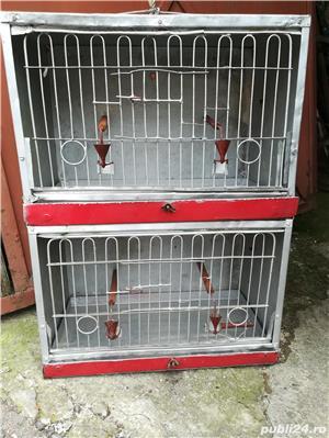 Colivii pentru pasari diferite forme din aluminiu - imagine 3