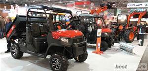 Jeep nou, 4x4 UTV Kioti K9 2400,24CP - imagine 14