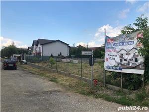 Teren cu fundație stradal in localitatea Sânpetru  - imagine 6