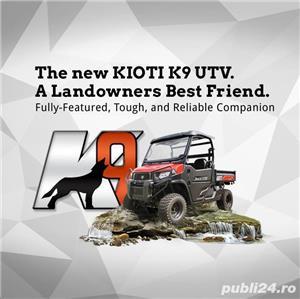 Jeep nou, 4x4 UTV Kioti K9 2400,24CP - imagine 3