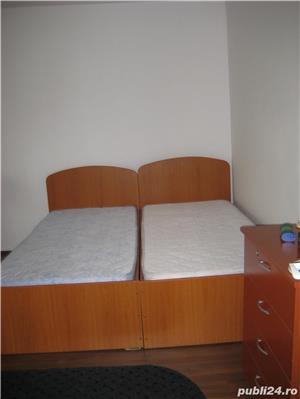 P.F. Inchiriez  Apartament 1 cam. 43mp Cluj-Napoca. Balcon 9 m cu termopan. Finisat. Cu Centrala.  - imagine 1