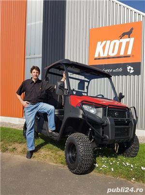 Jeep nou, 4x4 UTV Kioti K9 2400,24CP - imagine 15
