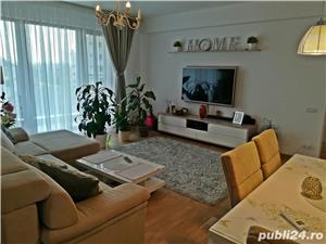 Apartament 3 camere in bloc nou, mobilat-utilat + loc parcare subteran - imagine 2