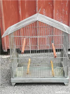 Colivii pentru pasari diferite forme din aluminiu - imagine 4