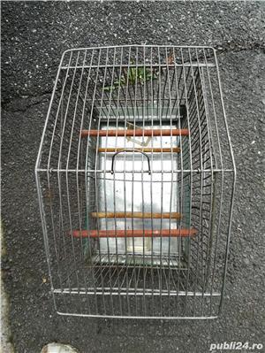 Colivii pentru pasari diferite forme din aluminiu - imagine 5