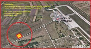 teren la  250   metri de aeroportul  Traian Vuia  -  Timisoara  - imagine 1
