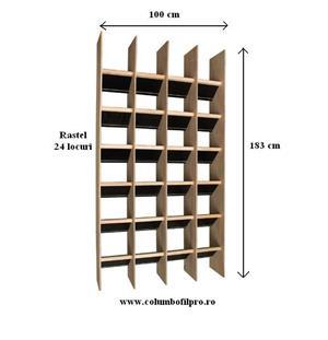 Odihnitori porumbei tip rastel  - imagine 1