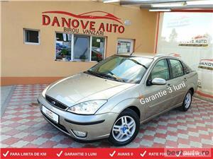 Ford Focus,GARANTIE 3 LUNI,BUY-BACK,RATE FIXE,Benzina,motor 1600 cmc,101 Cp,Ghia. - imagine 1