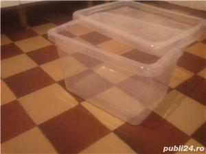 Vas recipient cutie cu capac 13 L ptr animale mici pesti 10 lei - imagine 3