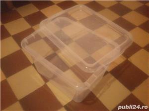 Vas recipient cutie cu capac 13 L ptr animale mici pesti 10 lei - imagine 2