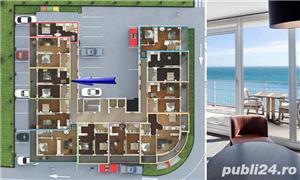 Apartament cu 2 camere in Mamaia Nord - Prima Linie la PLAJA - imagine 5